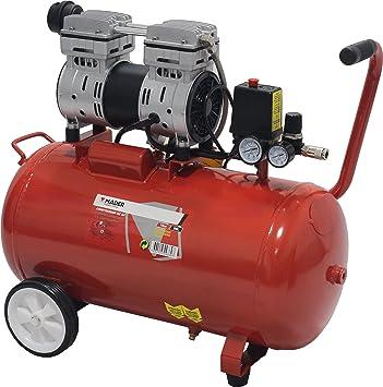 Compressor de Ar, 50 Litros Sin Mantenimiento: Amazon.es: Bricolaje y herramientas