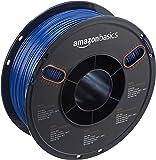 AmazonBasics PETG 3D Printer Filament, 1.75mm, Blue, 1 kg Spool