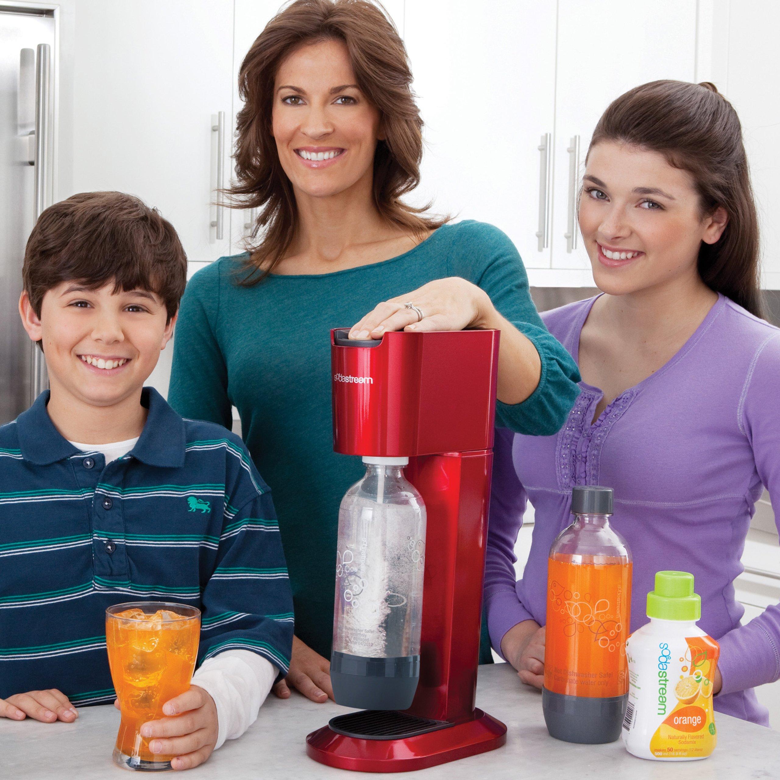 SodaStream Genesis Home Soda Maker Starter Kit, Red by SodaStream (Image #3)
