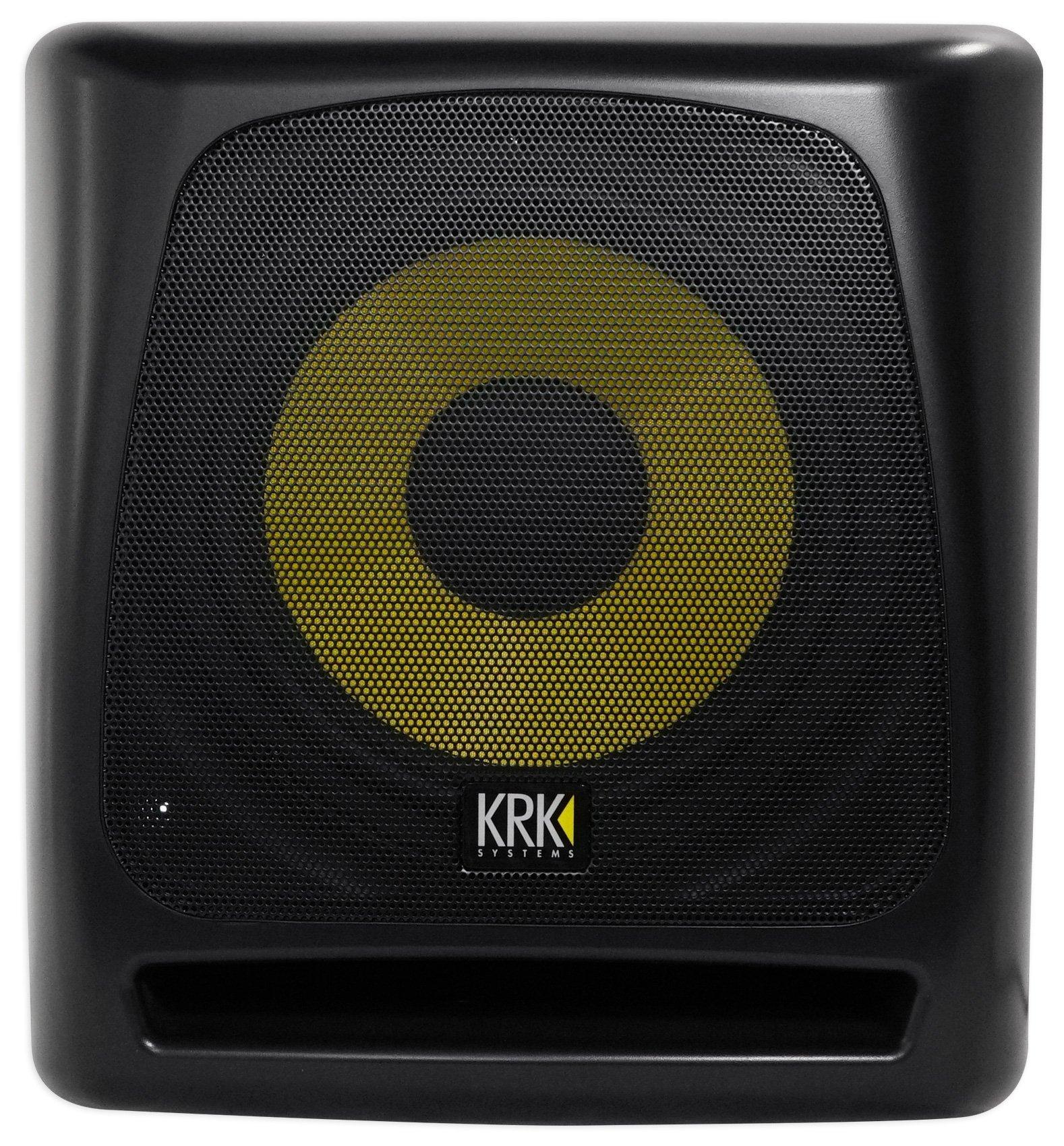 KRK 10S2 V2 10'' 160 Watt Powered Studio Monitor Subwoofer