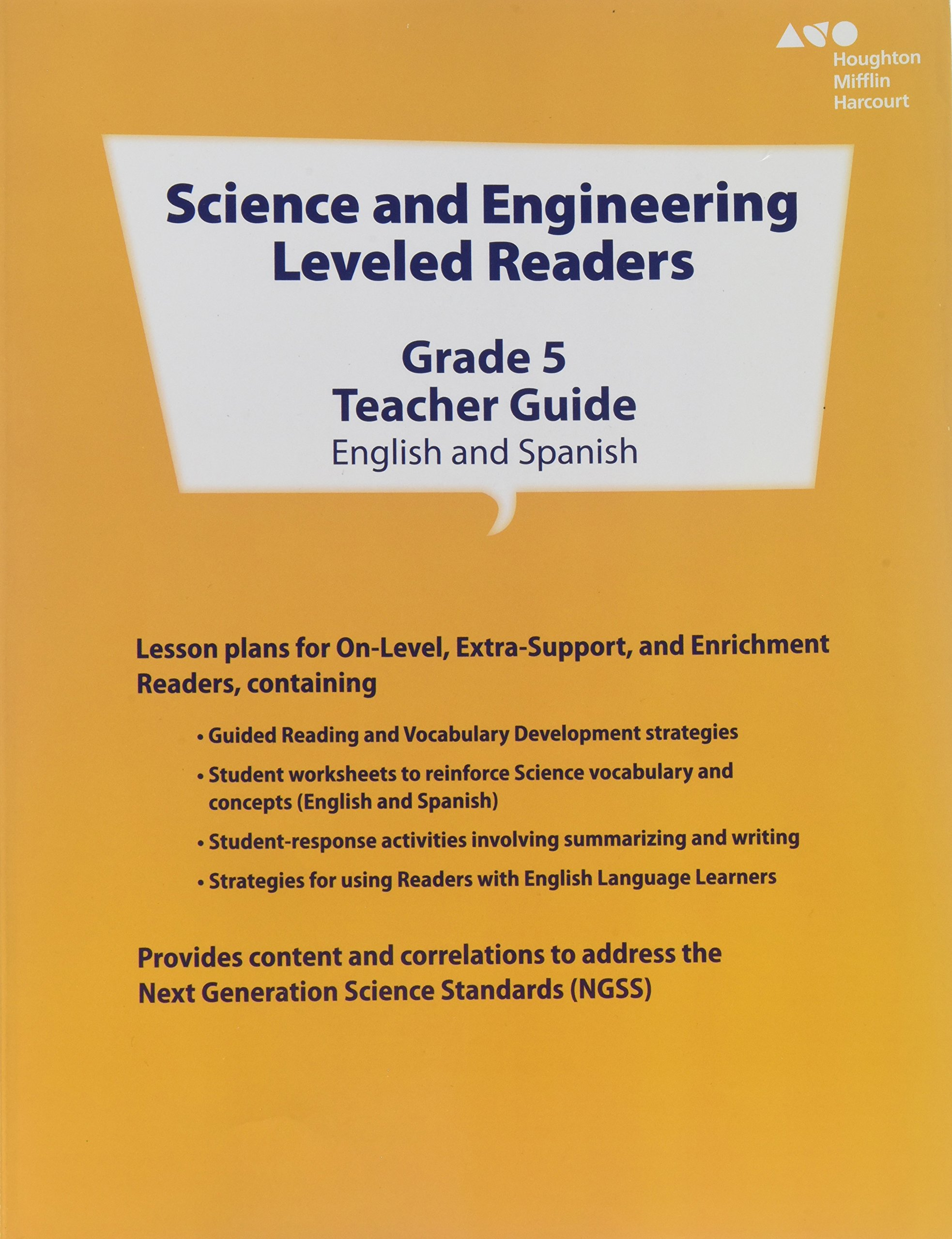 Science and Engineering Leveled Readers: Teacher's Guide Grade 5 2014:  9780544302259: Amazon.com: Books