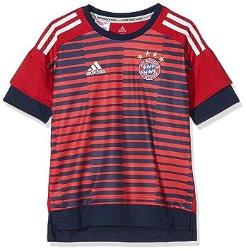 771803f0a2a Adidas CF1577 FC Bayern Home Pre-Match Jersey - Fcb True Red/Collegiate Navy