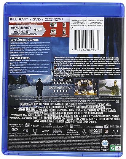 Le Pont Des Espions Blu Ray Dvd Hd Numerique Bilingual