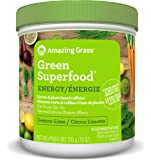 Amazing Grass Green Superfood Energy Lemon Lime, 30 Servings, 7.4 Ounce
