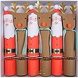 Amazon meri meri christmas make your own reindeer crackers kit meri meri christmas large crackers 45 2927 set of 6 solutioingenieria Gallery