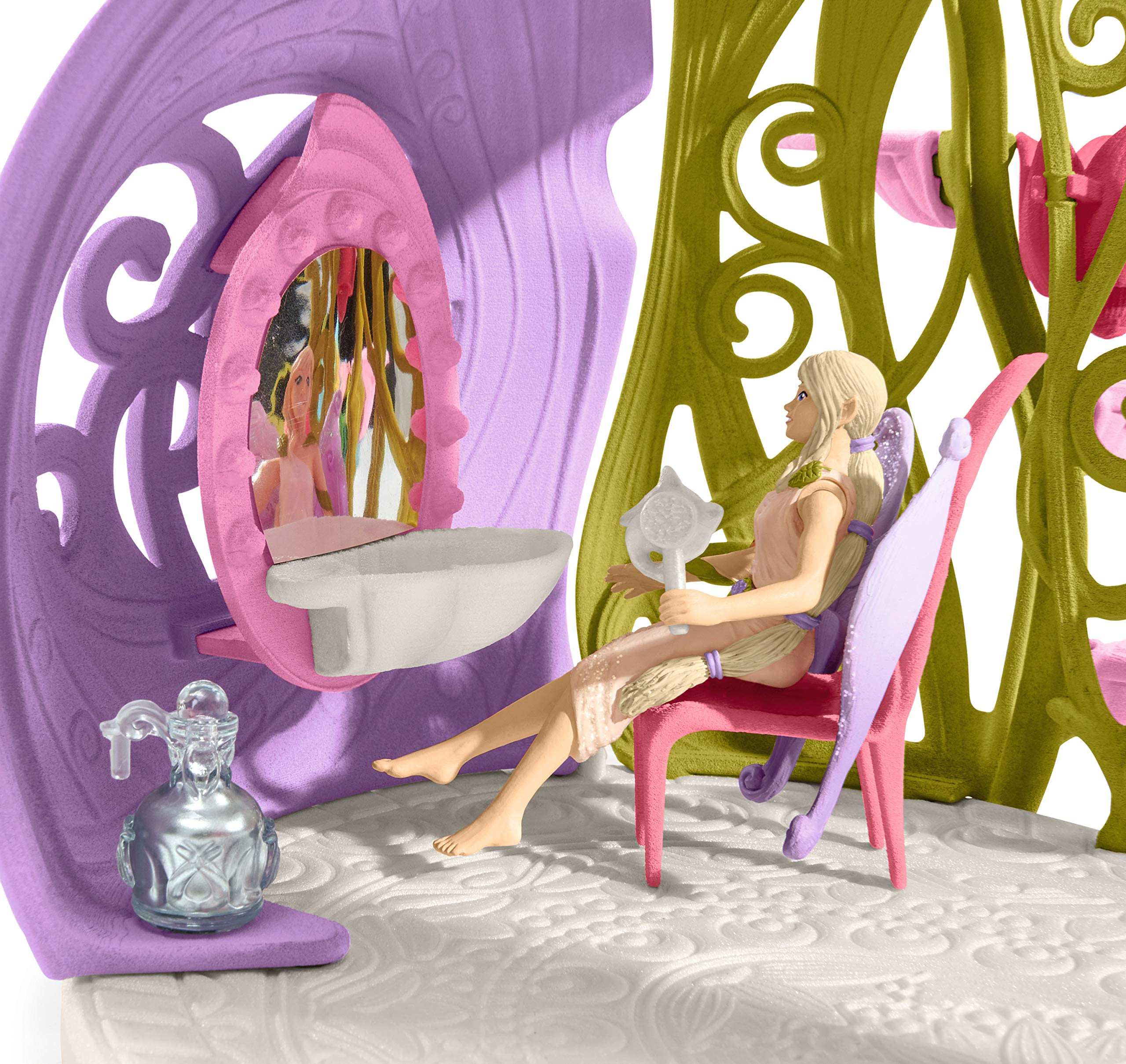 Schleich Glittering Flower House with Unicorns, Lake and Stable, Multicolor by Schleich (Image #5)