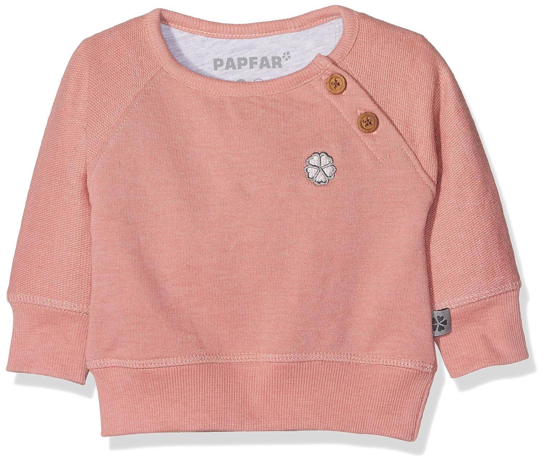Papfar Baby-Mädchen Sweatshirt Sweat GOTS-Zertifiziert 716364GOTS