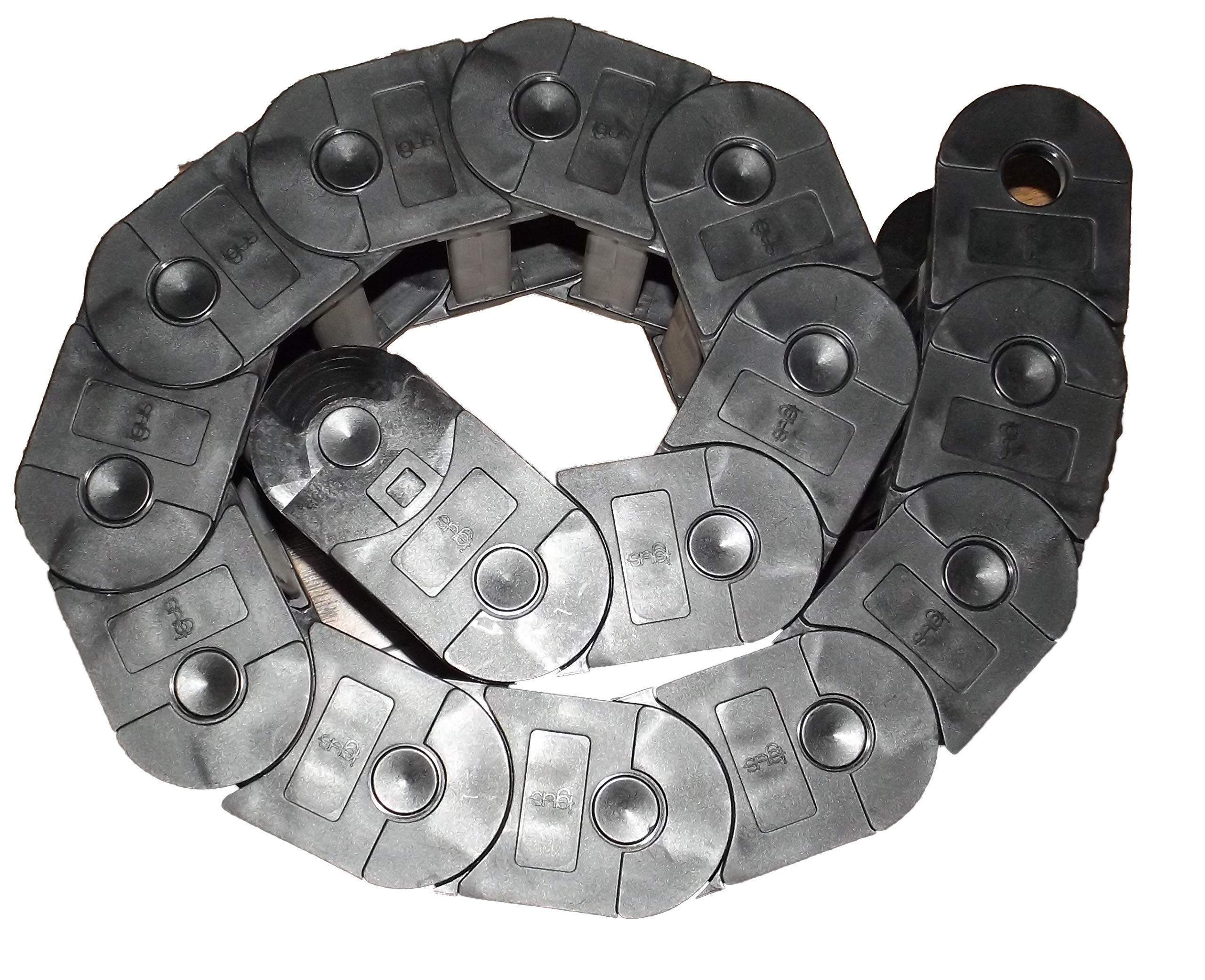 Heavy Duty E-Chain/Hose Track 1 Foot Section
