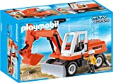 Playmobil 6860 City Action Construction Rubble Excavator with Function Shovel