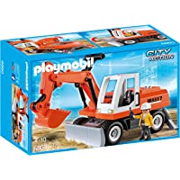 Playmobil - 6860 - Jeu - Tractopelle avec Godet