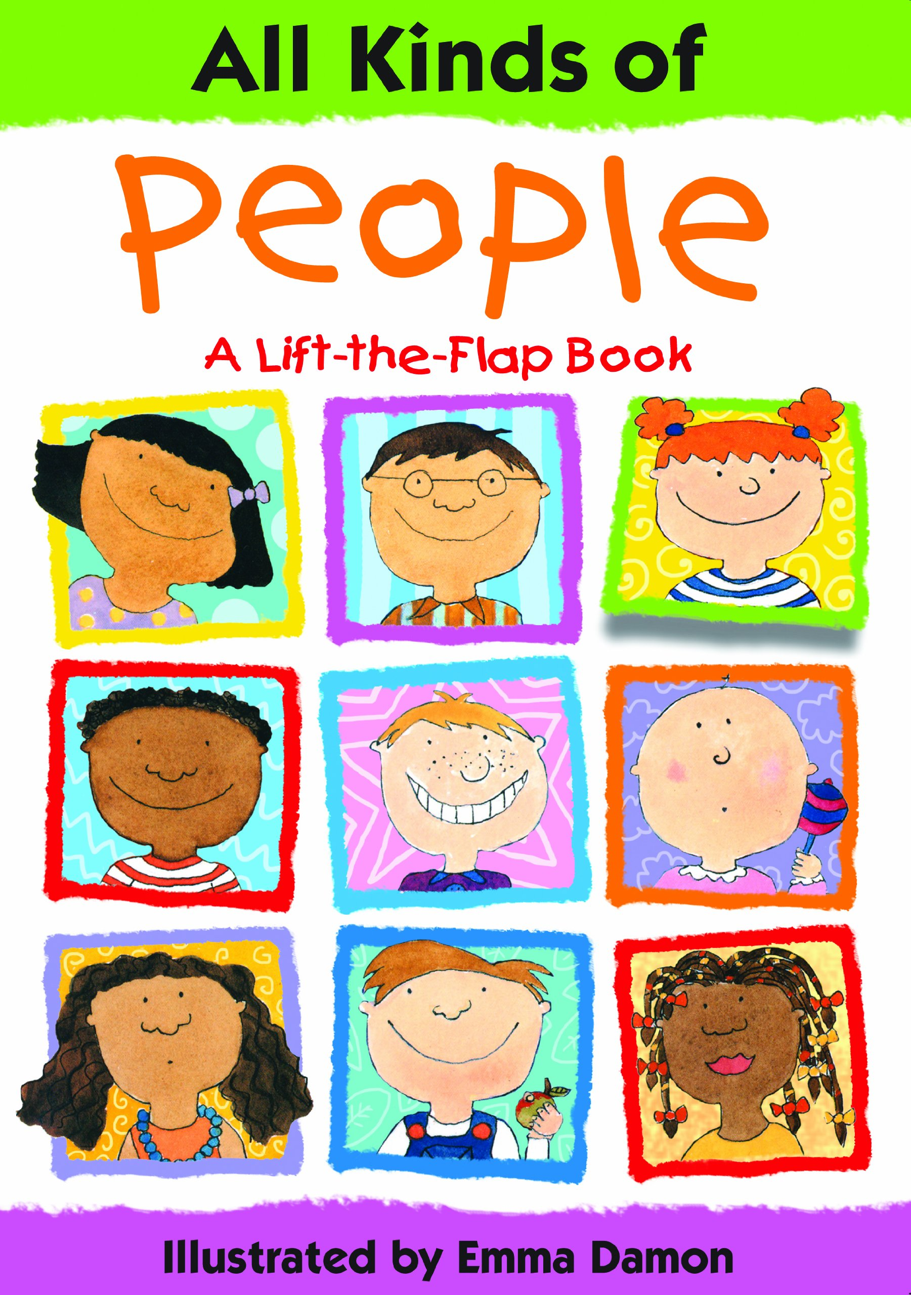 All Kinds Of People A Lift The Flap Book All Kinds Of S Amazon Es Emma Damon Libros En Idiomas Extranjeros