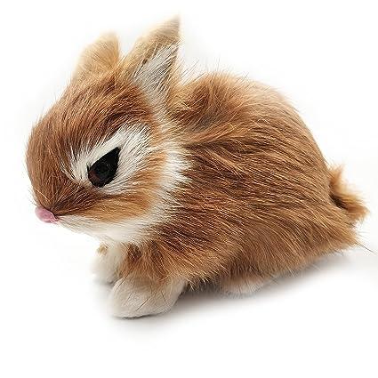 Conejo Falso Simulado Niños Casa Decoración Juguete Animal yb7vYgf6