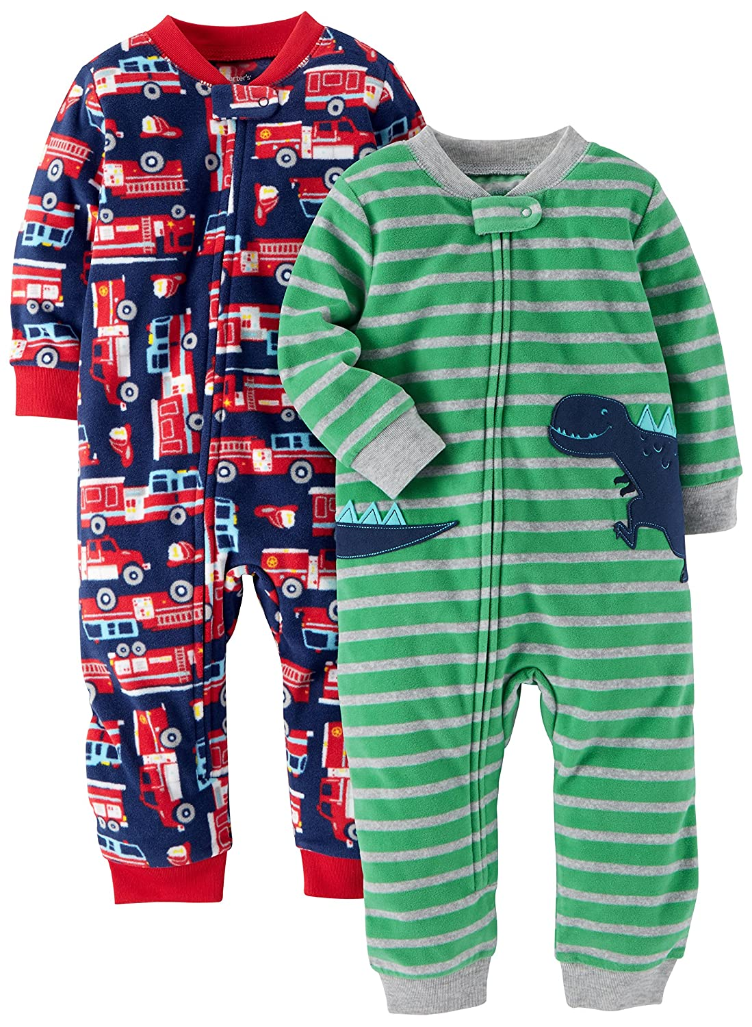 d85f112fc Carter s Baby Boys  2-Pack Cotton Footed Pajamas Carter s ...