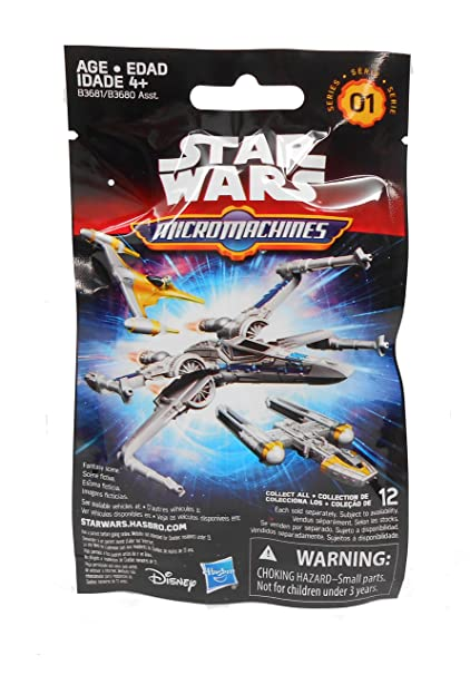 e0b3539cd5 Image Unavailable. Image not available for. Color  Hasbro Star Wars The  Force Awakens MicroMachines Blind Bag ...