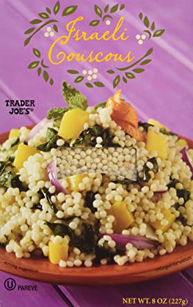 Amazon Com Trader Joe S Israeli Couscous 8 Oz Box 2 Pack Grocery Gourmet Food