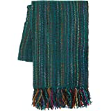 "SLPR Home Collection Striped Throw Blanket, 50""x60"""