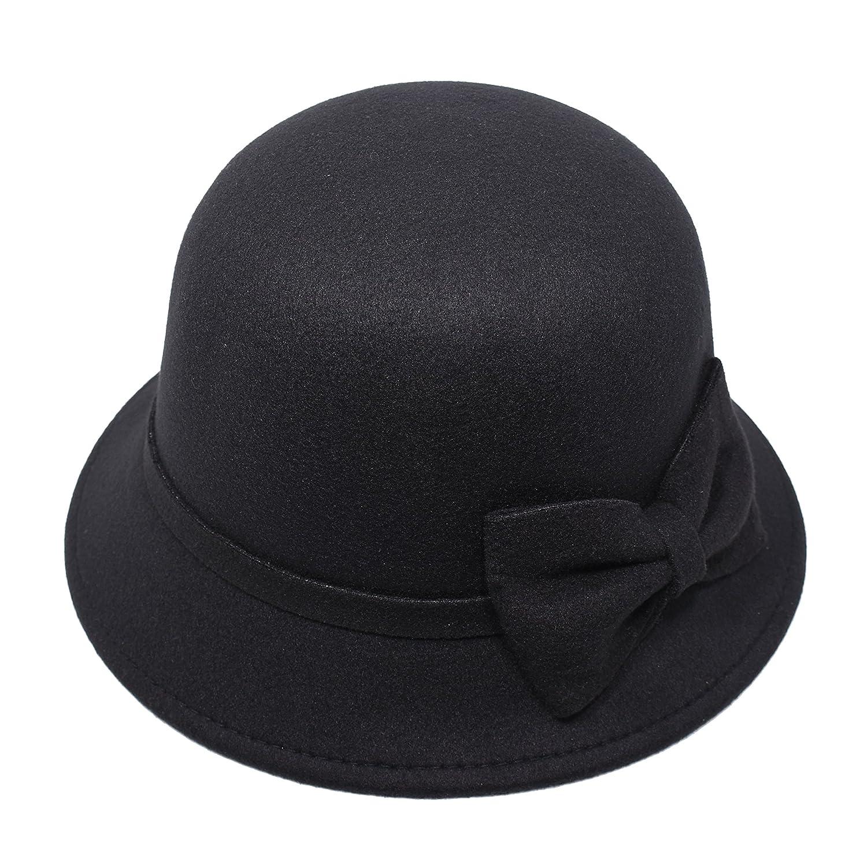Mcupper HAT レディース B017R9NRK6  Black