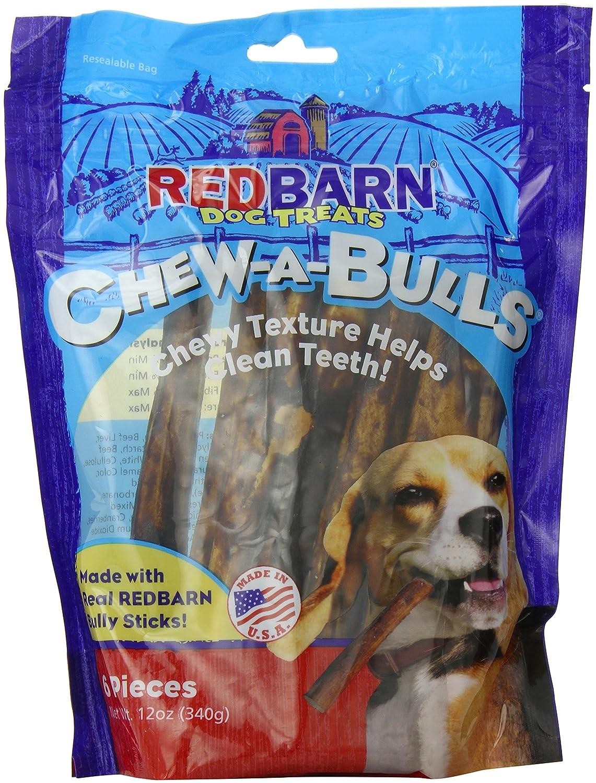 Redbarn Pet Products 785184250068 Redb Chew-A-Bulls Alt 6-Pack Bag