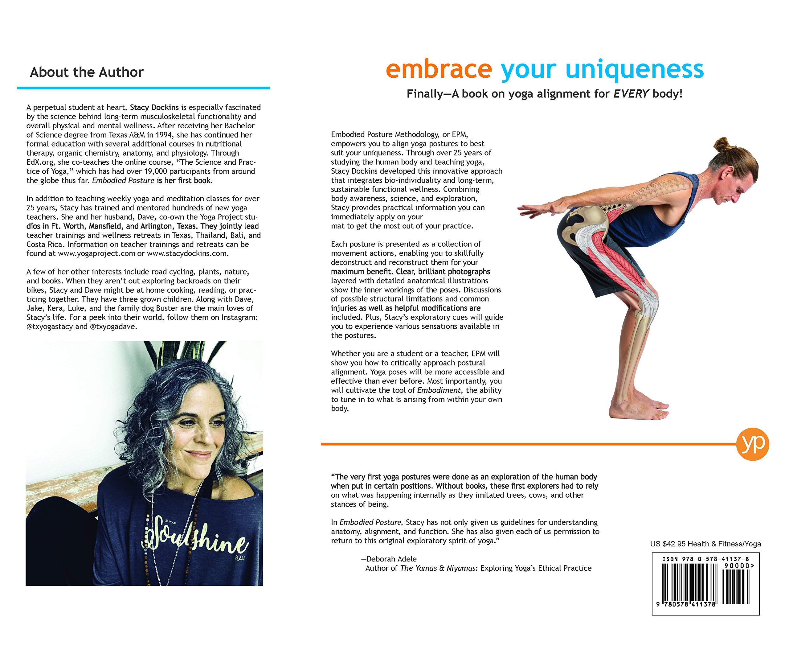 Embodied Posture Your Unique Body And Yoga Stacy Dockins Marie Gonzalez Emily Evans Jake Dockins Photographer Emily Evans Jake Dockins Photographer 9780578411378 Amazon Com Books
