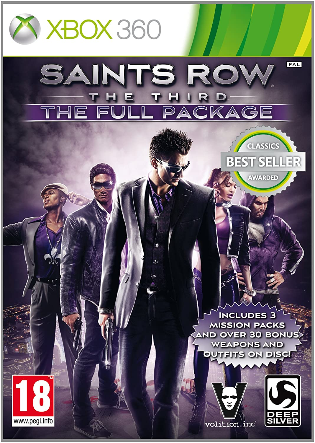 Saints Row The Third French, Italian, German, Spanish, Dutch, Japanese, Korean, Russian, Polish, and Czech Xbox 360, PS3, and PC