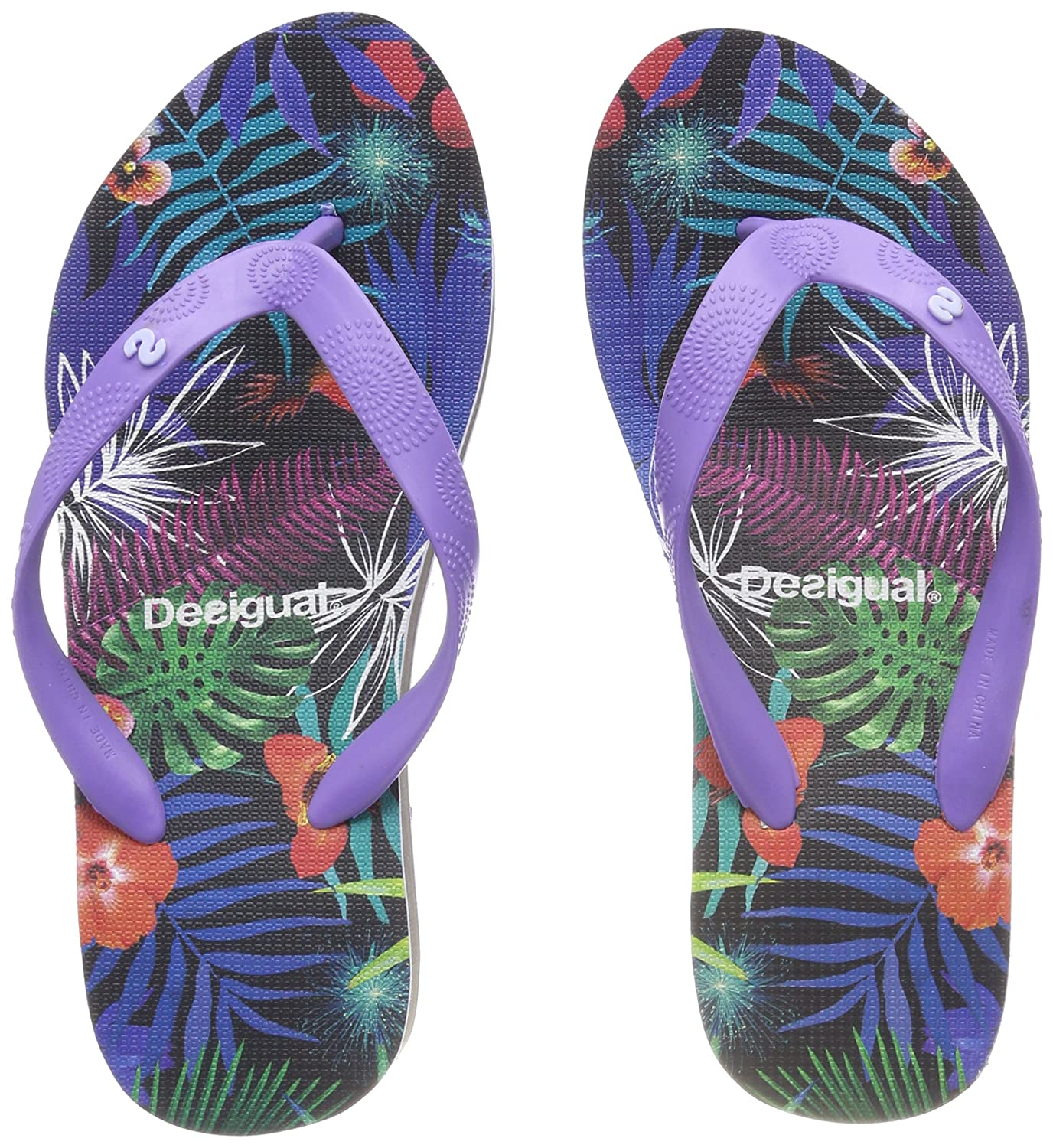 Desigual Shoes_Lola Tropical, Tongs Femme