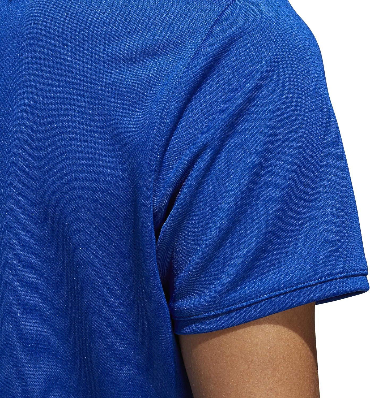 adidas Tournament Polo à Manches Courtes pour Femme bleu roi