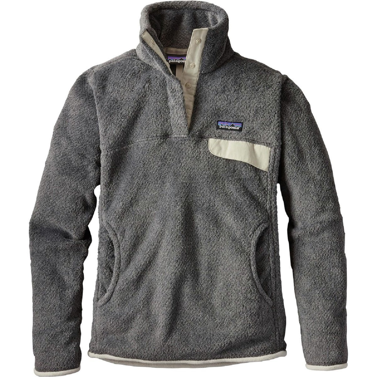 patagonia(パタゴニア) ウィメンズリツールスナップTプルオーバー Ws Re-Tool Snap-T P/O 25442 B01MY9AJ22 Small|Feather Grey/Ink Black X-dye Feather Grey/Ink Black X-dye Small