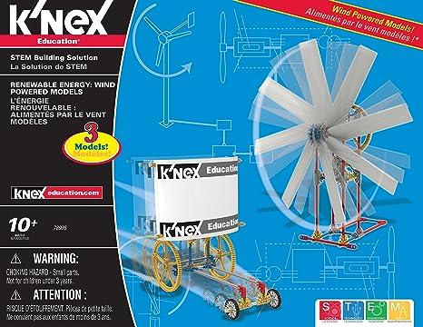 Knex - Set de energía renovable para niños a Partir de 10 años (583 Piezas): Amazon.es: Juguetes y juegos