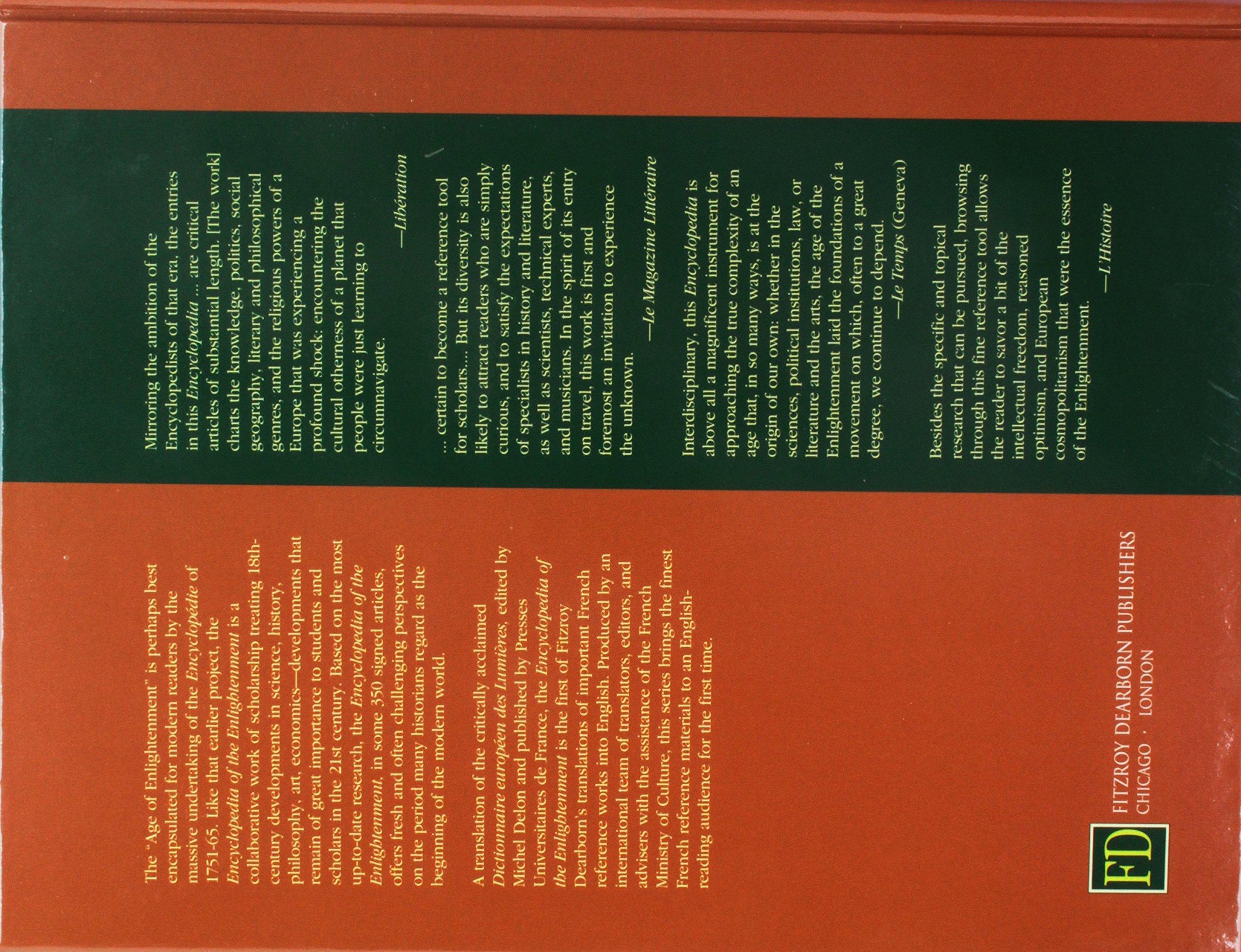 Encyclopedia of the Enlightenment: Amazon.es: Michel Delon: Libros ...
