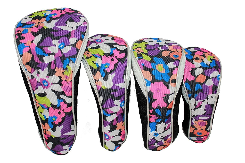 人気アイテム Taboo Fashions 4点パック Fashions デザイナー デザイナー ゴルフクラブカバー 4点パック ヘッドカバーセット(多色) B0741CWQ3X ウッドストック ウッドストック, グローバルタイヤ:ca09bf50 --- senas.4x4.lt