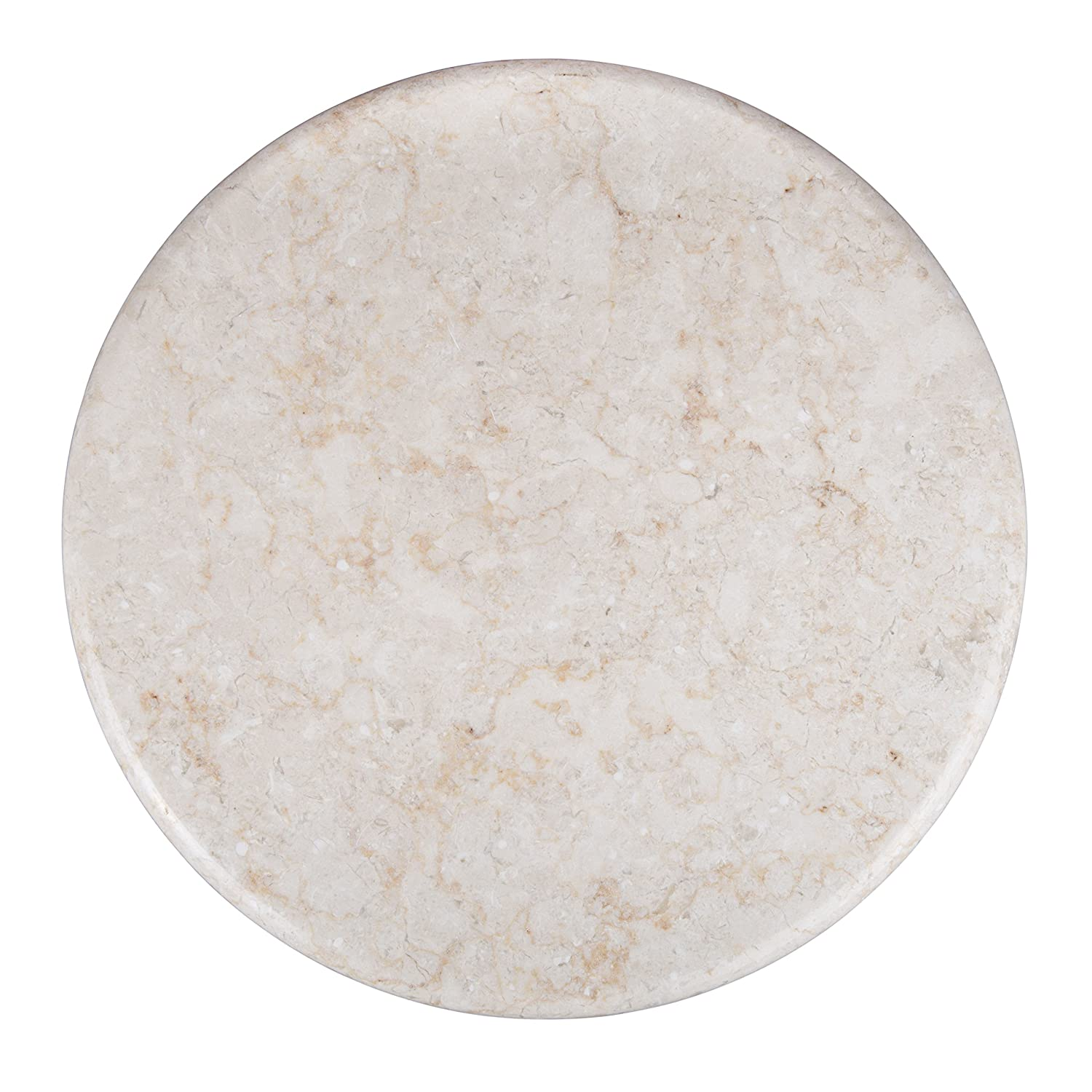 evco creative home 74100r marble lazy susan champagne