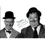 LAUREL & HARDY SIGNED PHOTO