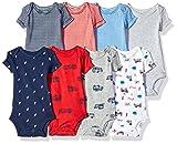 Carter's Baby Boys' 8-Pack Short-Sleeve