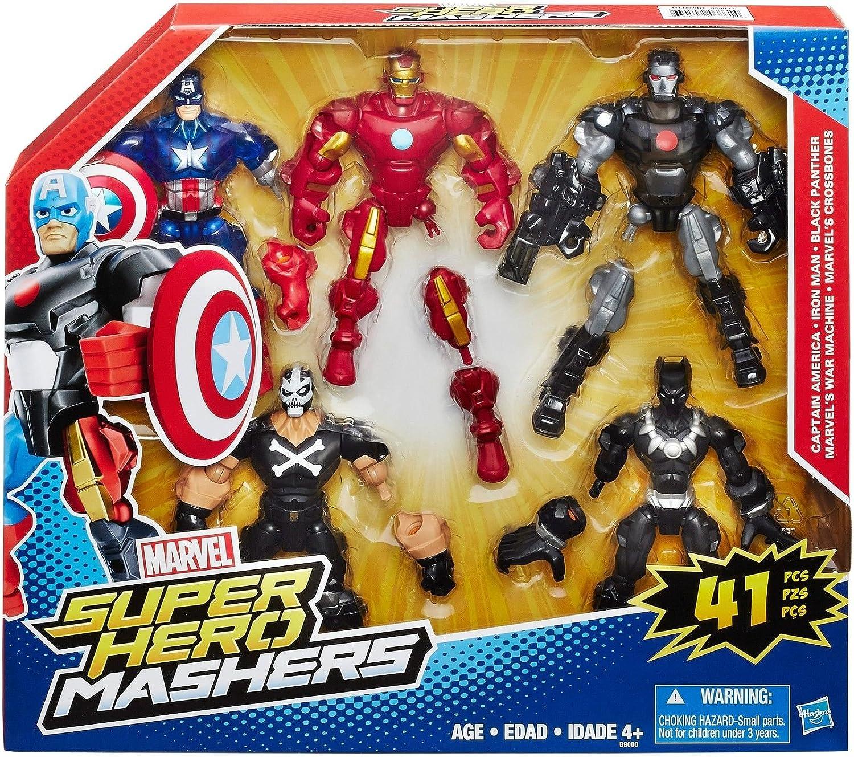 Marvel Super Hero Mashers 5 Pack: Amazon.es: Juguetes y juegos