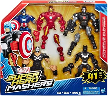 Marvel Super Hero Mashers 5 Pack: Amazon.es: Juguetes y juegos