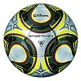 Wilson Sportivo II, Pallone da Calcio Unisex-Adulto, Blu/Calce, Taglia Unica