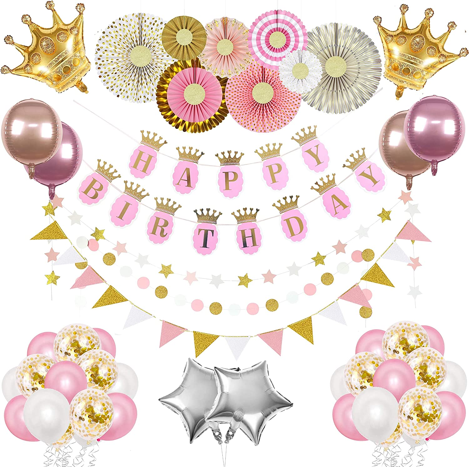 Princess Party Decoration Bundles