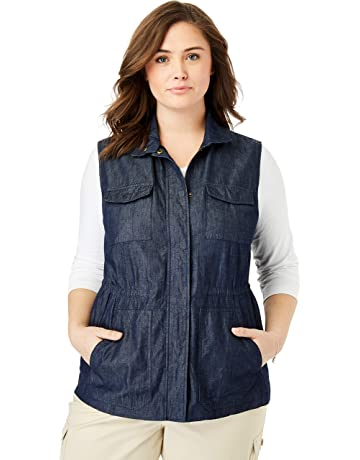 c1fe4a54dbc Woman Within Women's Plus Size Utility Vest