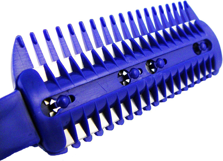Universal Unisex Razor Comb Home Hair Cut Scissor (w/ 10 Bonus Replacement  Razors)