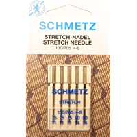 5Schmetz Stretch coser agujas Surtido (plano pistón) 130/705H