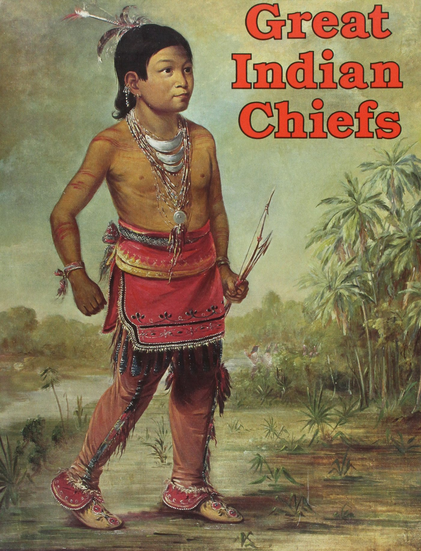 Great Indian Chiefs Coloring Book