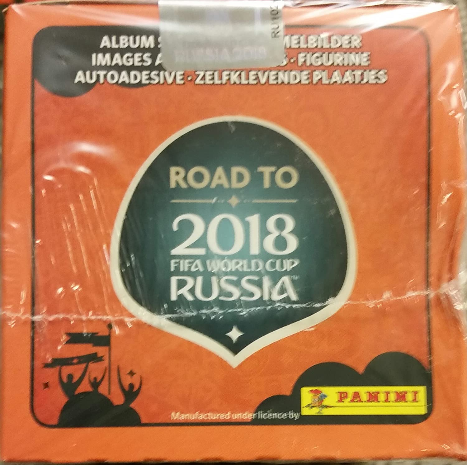 Amazon.com: 2017 Panini Road to Russia 2018 Stickers Album + 100 packs (total of 500 stickers)  made in Brazil: Everything Else