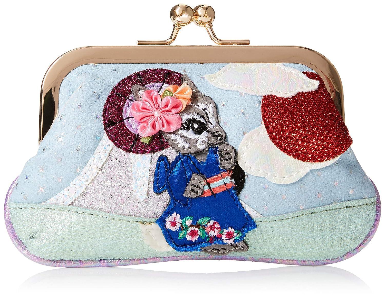 Irregular Choice Blossom Bunny Pouch, Porte-monnaie femme, Multicolore (Green/Red), 4x25x18 cm (W...