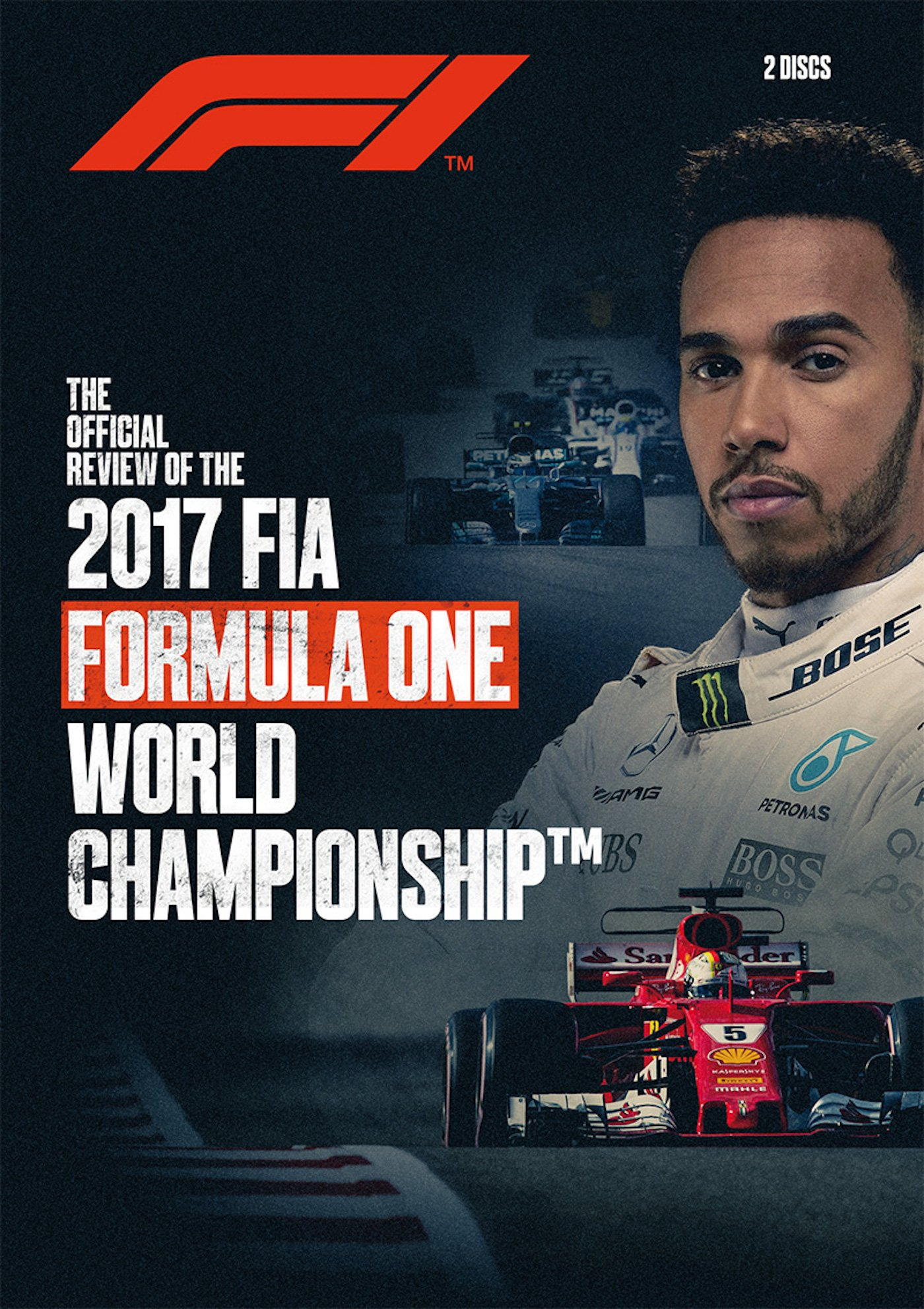 DVD : F1 2017 Official Review (2PC)