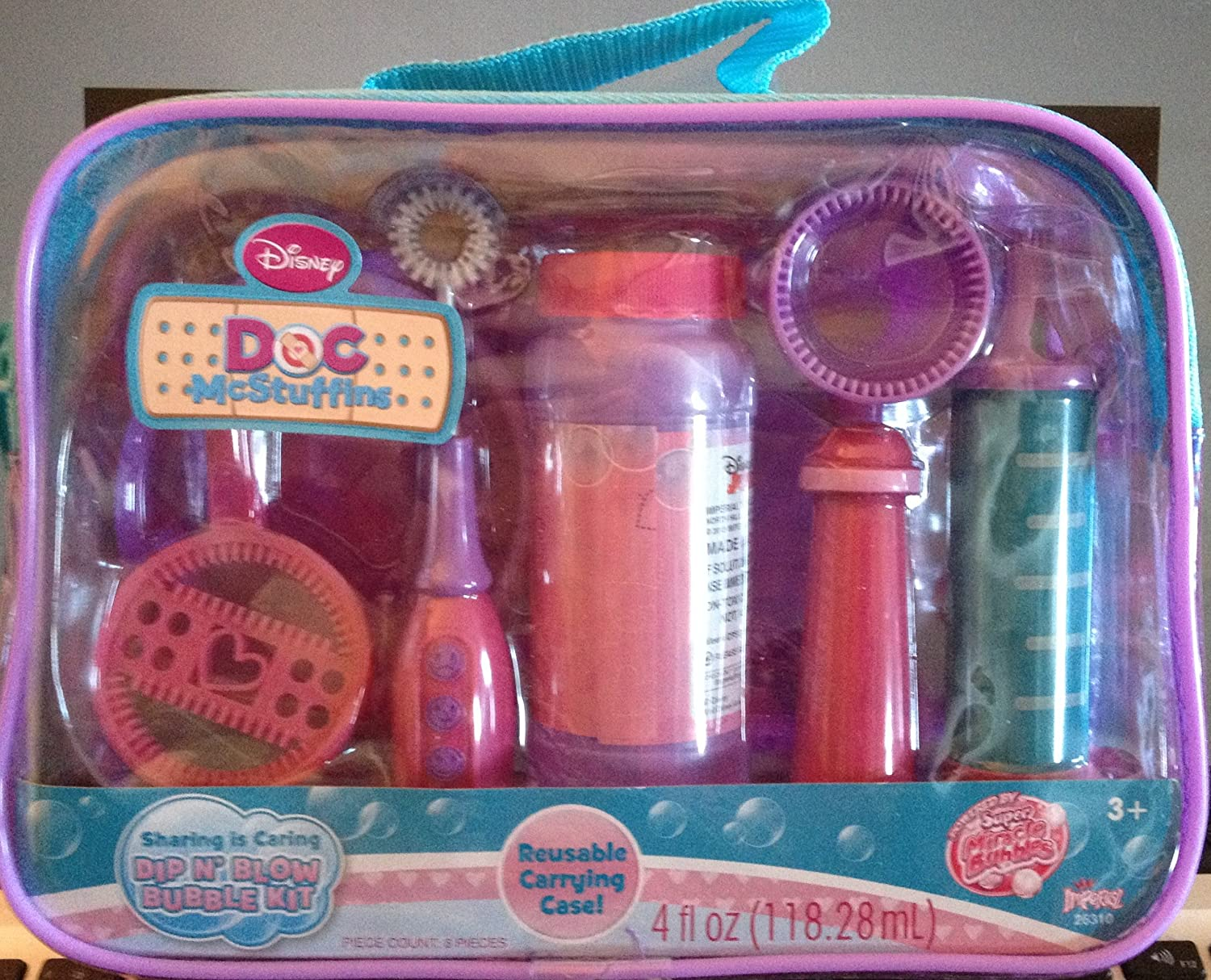 Doc McStuffins Dip N' Blow Bubble Kit