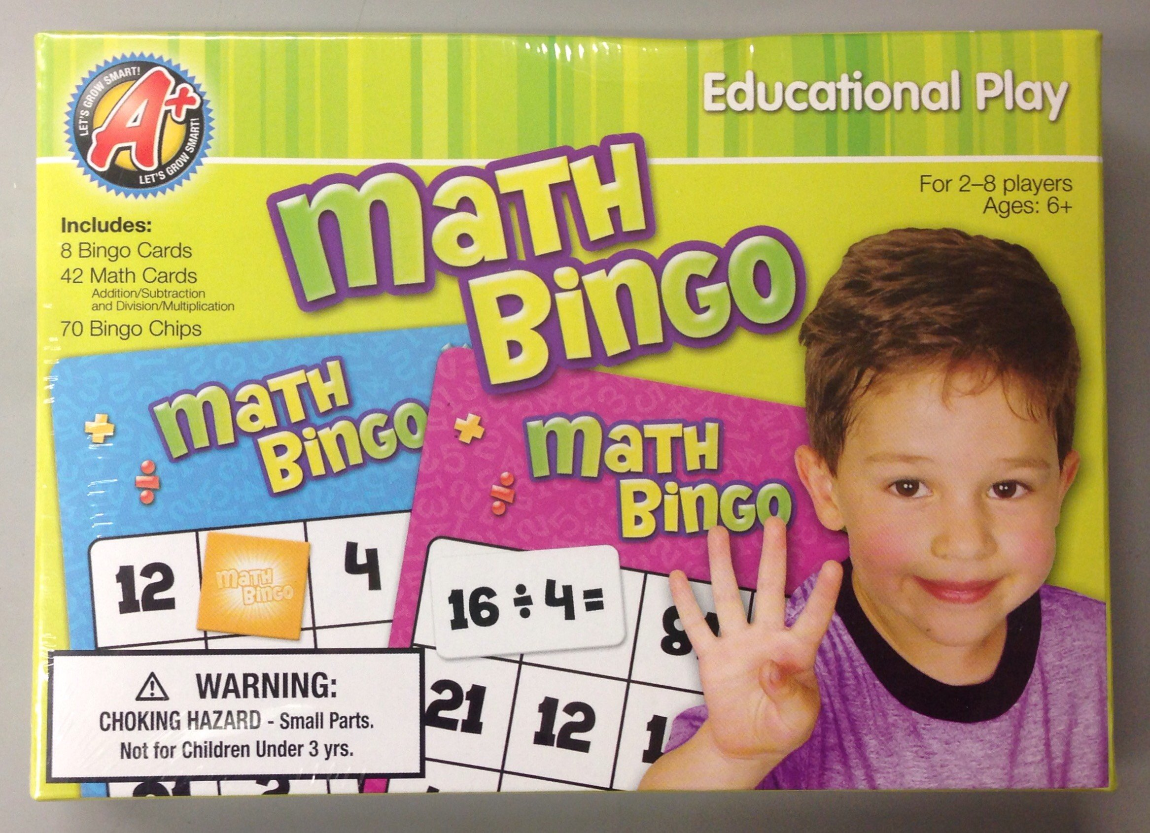 Creative Edge - Math Bingo (9781403794826) ebook