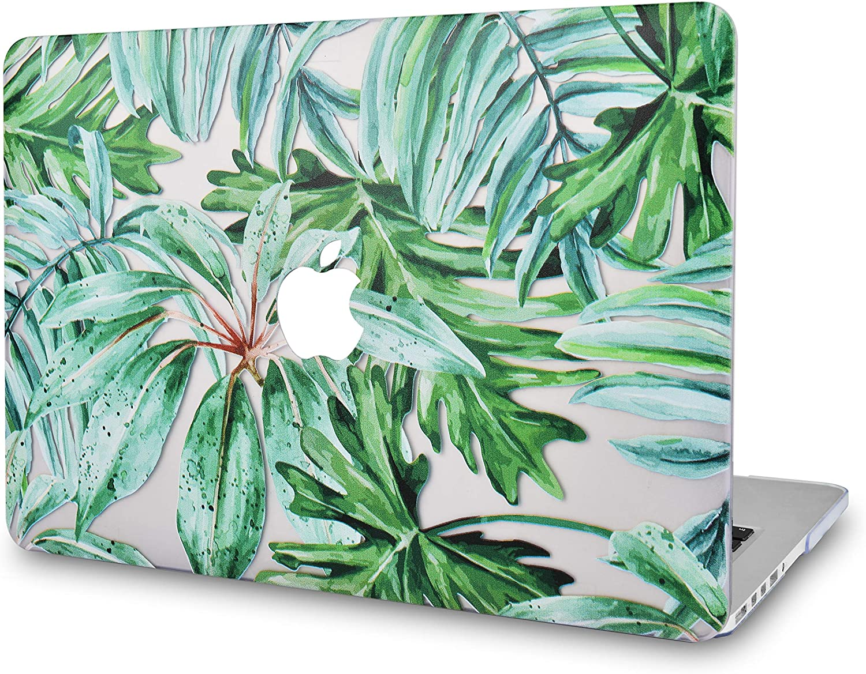 "LuvCaseLaptopCaseforOld MacBook Pro 13"" Retina Display (2015/2014/2013/2012 Release) A1502/A1425RubberizedPlasticHardShellCover (Rainforest)"