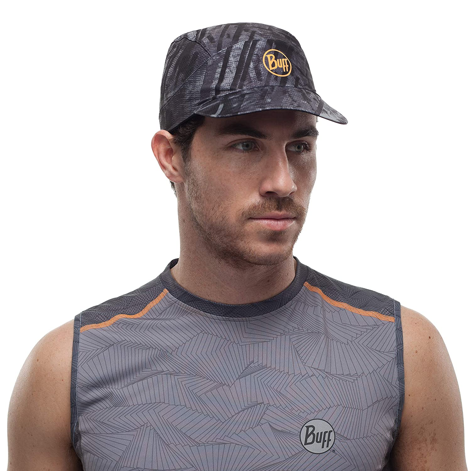 FR Unique Fabricant Grey Buff R-City Casquette Pack Run XL Mixte Adulte Taille One sizeque