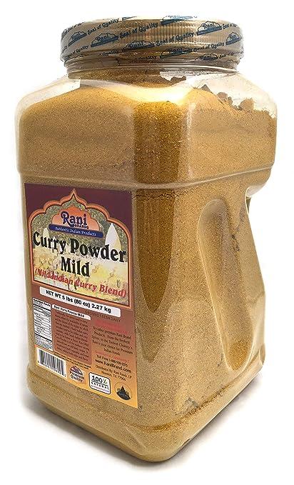 Rani Polvo de curry SUAVE Peso neto. 3 oz (85 g): Amazon.es: Alimentación y bebidas