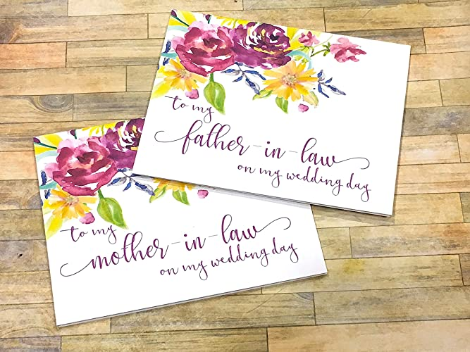 Amazon to my mother in law on my wedding day card from bride to my mother in law on my wedding day card from bride and groom m4hsunfo